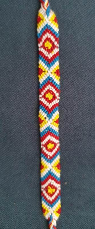 Bohemian Vintage Weave katoenen armband 2