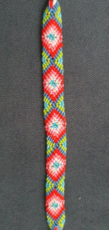 Bohemian Vintage Weave katoenen armband 1