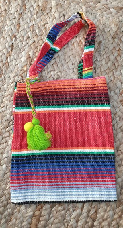 Peru bag met lime kwast