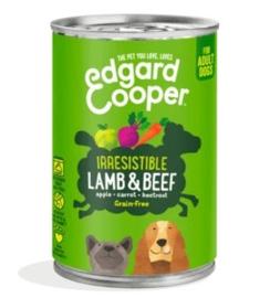 Edgard & Cooper Blik Lam & Rund 400 gram