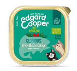 Edgard & Cooper Cat Bio Vis en Bio Kip 85 gram