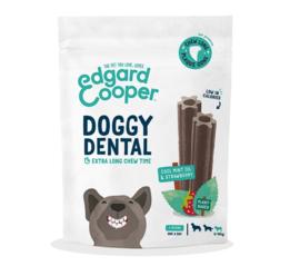 Edgard & Cooper Doggy Dental Munt & Aardbei S per 7 stuks