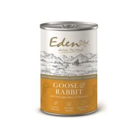 Eden Dog Wet Gans/Konijn 400 gram