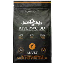 Riverwood Adult Zalm - Witvis - Haring 2 kilo