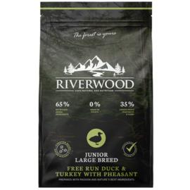 Riverwood Junior Large Breed Kalkoen - Eend - Fazant 2 kilo