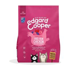 Edgard & Cooper Kat Kitten Scharrelkip/scharreleend en MSC Witvis 300 gram
