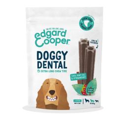 Edgard & Cooper Doggy Dental Munt & Aardbei M per 7 stuks