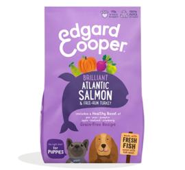 Edgard & Cooper Puppy Atlantische Zalm en Scharrelkalkoen 12 kilo