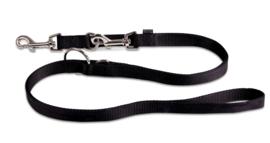 Hondenlijn Wolters Basic Zwart S