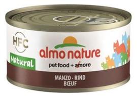 Almo Nature Catfood Rund blik 70 gram