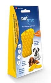 Pet & Me Verzorgingsborstel Hond Korthaar