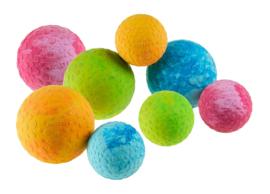 Wolters Aqua Fun Ball Roze 5 cm