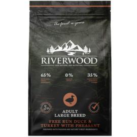 Riverwood Adult Large Breed Kalkoen - Eend - Fazant 12 kilo