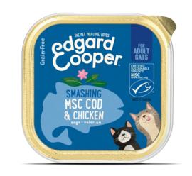 Edgard & Cooper Cat MSC Kabeljauw en Kip 85 gram