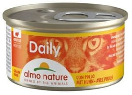 Almo Nature Catfood Daily Menu Kip blik 85 gram