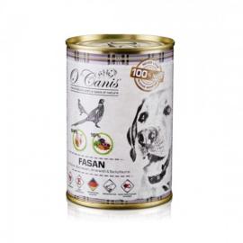 O'Canis Blikvoeding Hond Fazant, Wortel, Amaranth en Bakpruim 400 gram