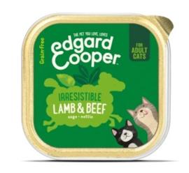 Edgard & Cooper Cat Lam en Rund 85 gram