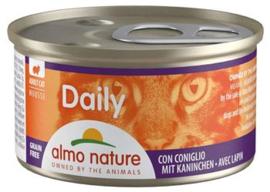 Almo Nature Catfood Daily Menu Konijn 85 gram