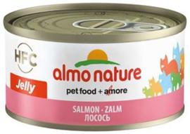 Almo Nature Catfood Zalm blik 70 gram