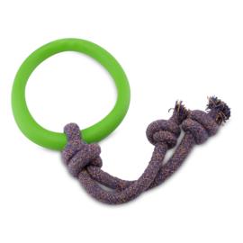 Beco Ring met Touw Groen Klein