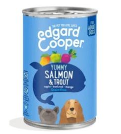 Edgard & Cooper Blik Zalm & Forel 400 gram