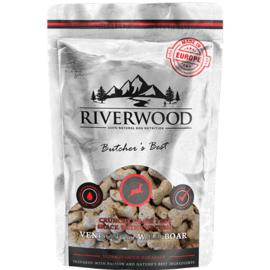 Riverwood Hert & Everzwijn koekjes 200 gram