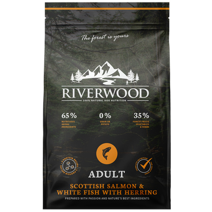 Riverwood Adult Zalm - Witvis - Haring 2 kilo
