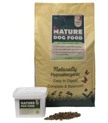 Nature Dogfood Granenvrij Lam 12 kilo