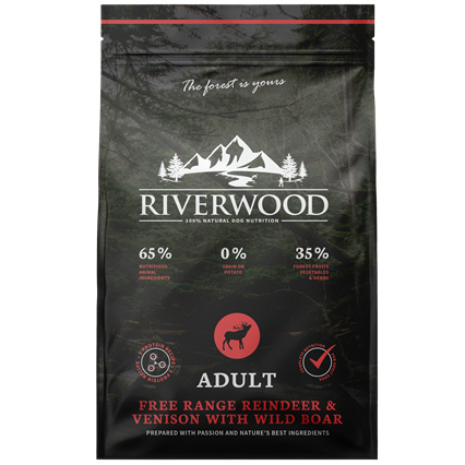Riverwood Adult Rendier - Hert - Wild zwijn 2 kilo