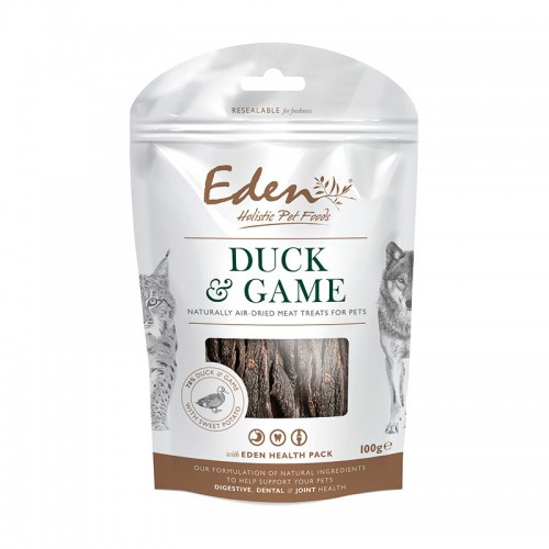 Eden Treats Eend en Wild 100 gram