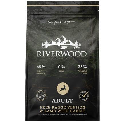 Riverwood Adult Hert - Lam - Konijn 12 kilo