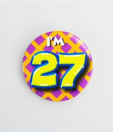 Button klein - 27