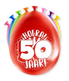 Assorti Ballon - 50 Jaar
