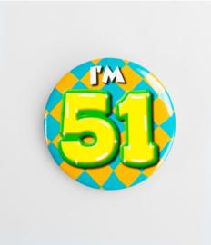 Button klein - 51