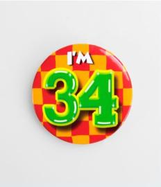 Button klein - 34