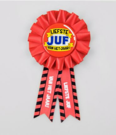 Party Rozet - Juf