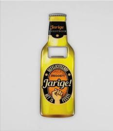 Bieropeners - Jarige