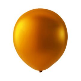 Ballon Orange Metallic - Per 100