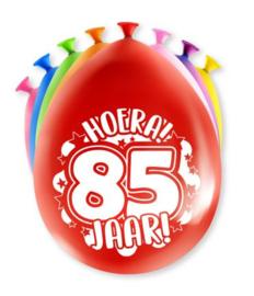 Assorti Ballon - 85 Jaar
