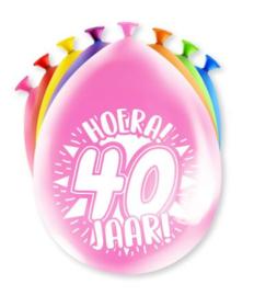 Assorti Ballon - 40 Jaar