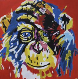 Schilderij aapje