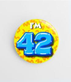 Button klein - 42