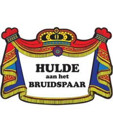 Huldebord Bruidspaar