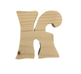 Houten letter J