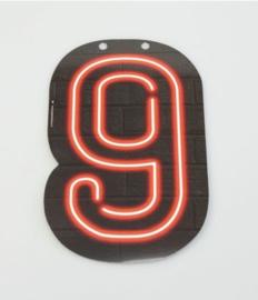 Neon Cijfer - 9