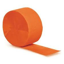 Crepepapier - Rol Oranje