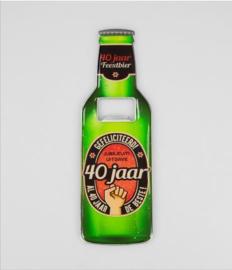Bieropeners - 40 Jaar