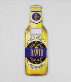 Bieropeners - David