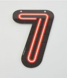Neon Cijfer - 6
