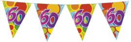 Vlaggenlijn Gekleurd - 60 jaar